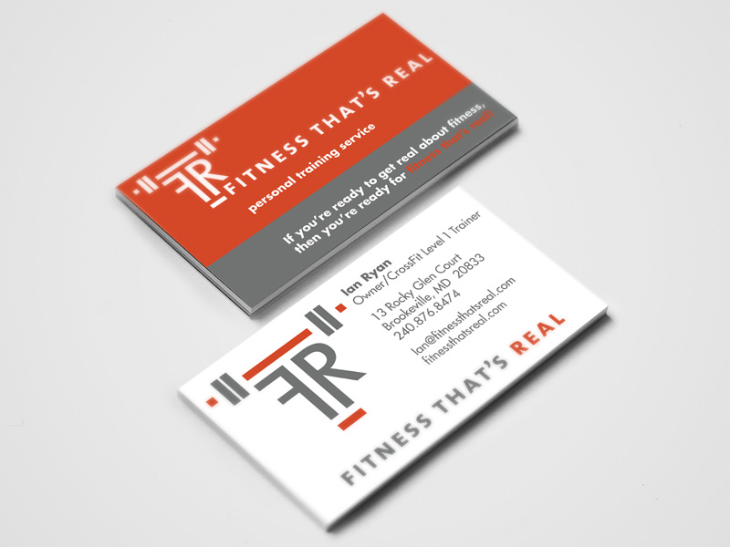 Fitness That's Real - business card