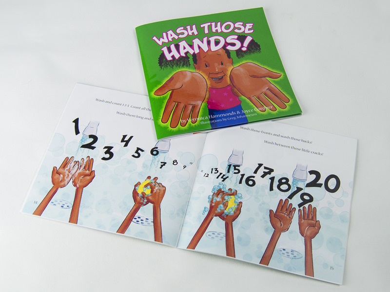 Wash Those Hands - book - art director | designer | illustrator