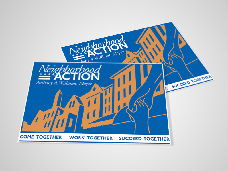 Neighborhood Action logo - designer & illustrator
