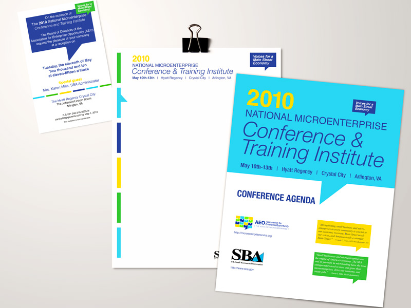 SBA - conference materials