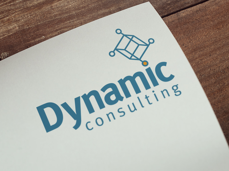 Dynamic Consulting - logo design